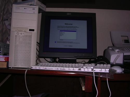 Desktop OS X Jangkrik Medio 2005 - By Macnoto - Sent to Steve Jobs
